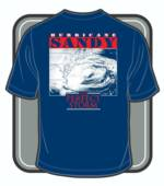 Hurricane Sandy Shirt Royal Blue_image